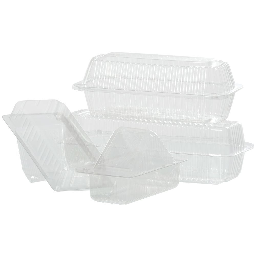 CONTAINR, LG SANDWICH WEDGE, 6.5X3.75X3.25