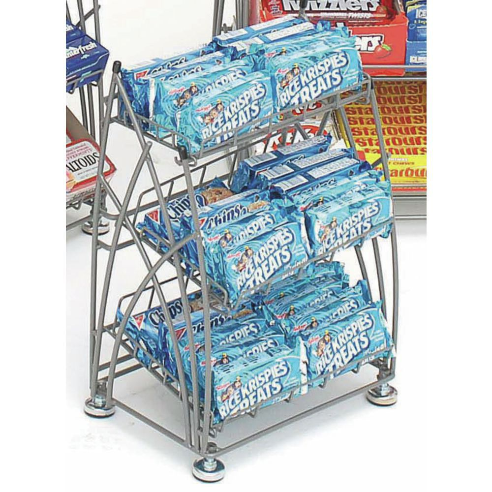 Countertop Wire Display Rack for Packaged Goods
