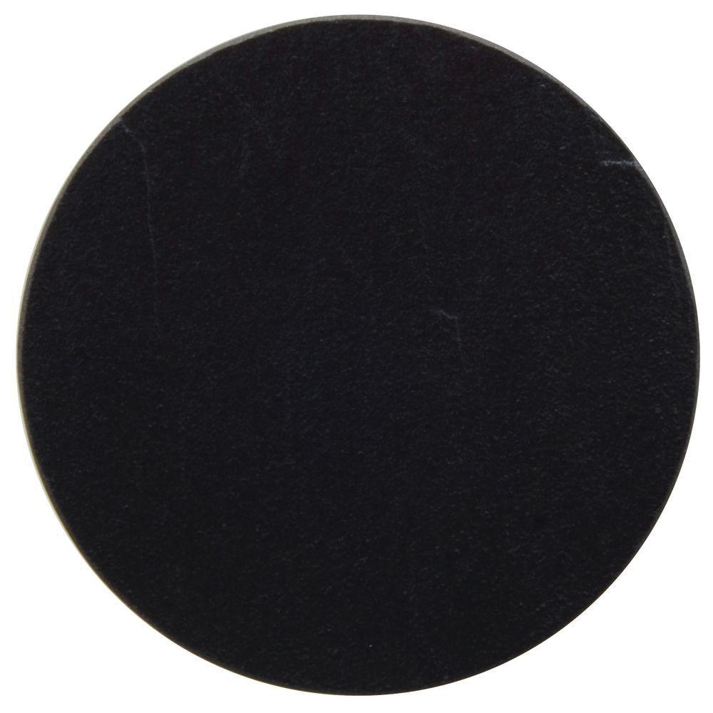"""Stoneleaf + White Porcelain Displayware Round Black Porcelain Platter fits #97495 3 3/4""""L"""