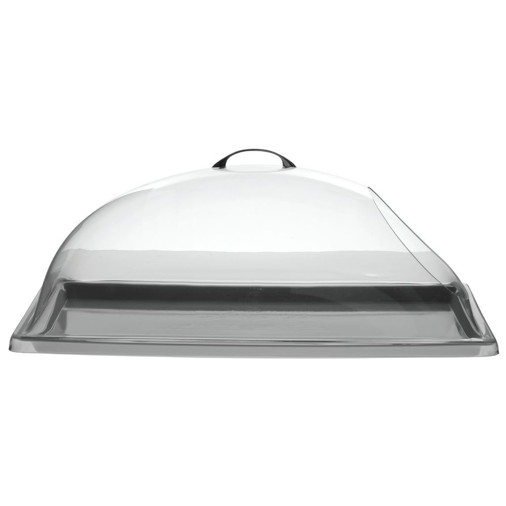 HUBERT<sup>®</sup> Rectangular Clear Polycarbonate One End Cut-Out Dome Cover