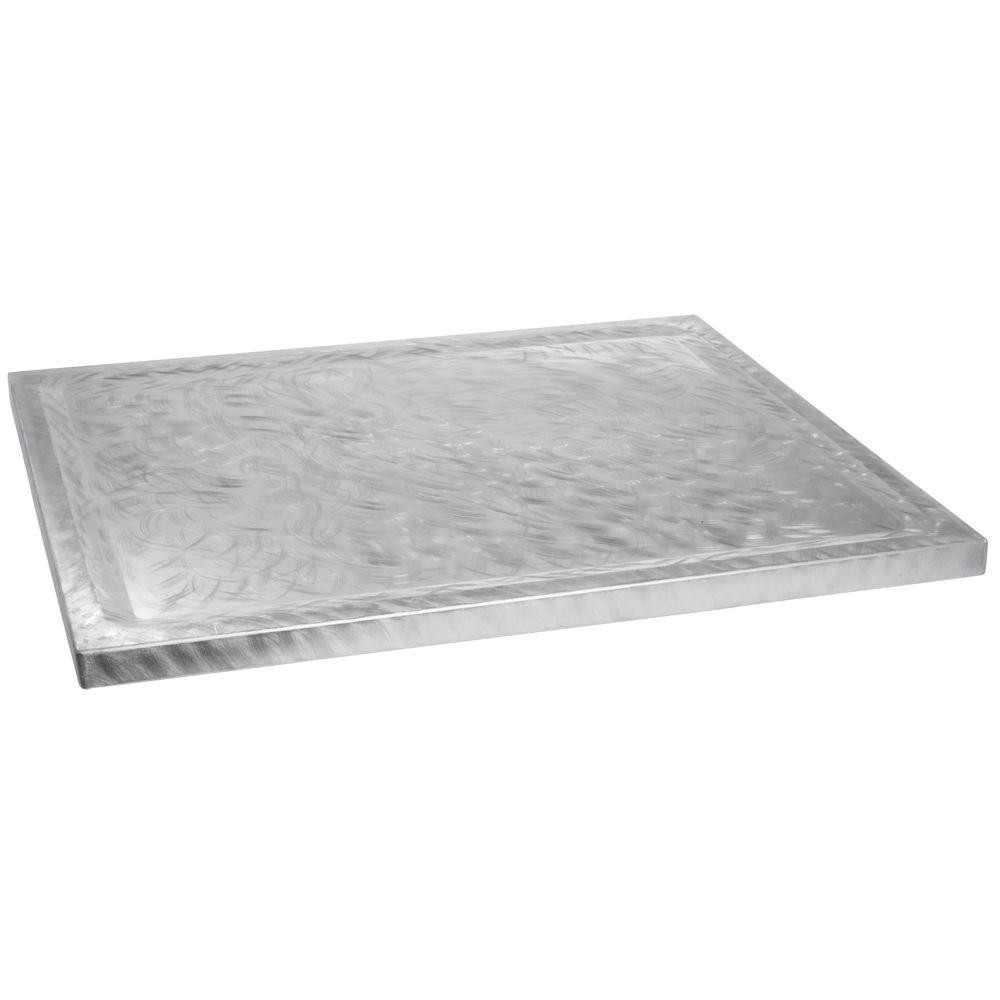 DOUBLE WELL COVER, ALUMINUM