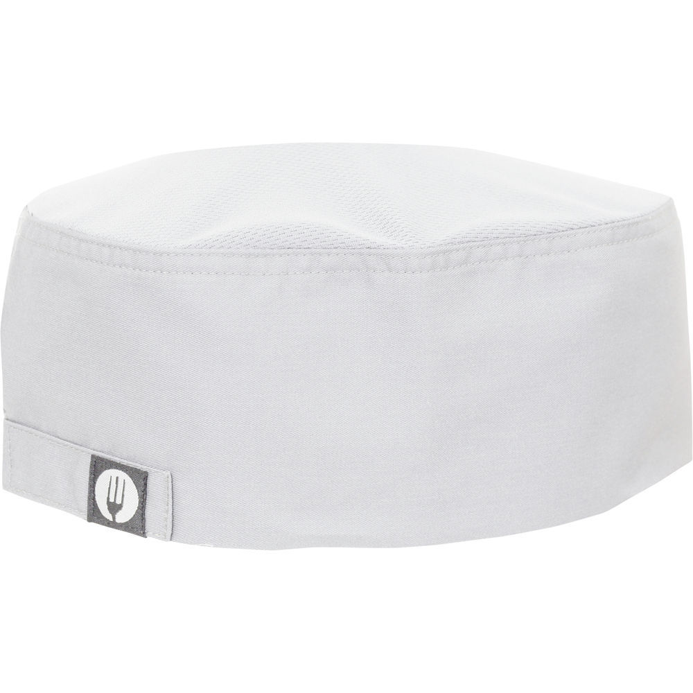 Chef Works Cool Vent™ White Poly Cotton Flat Top Chef Hat 55dbf5dbf8f