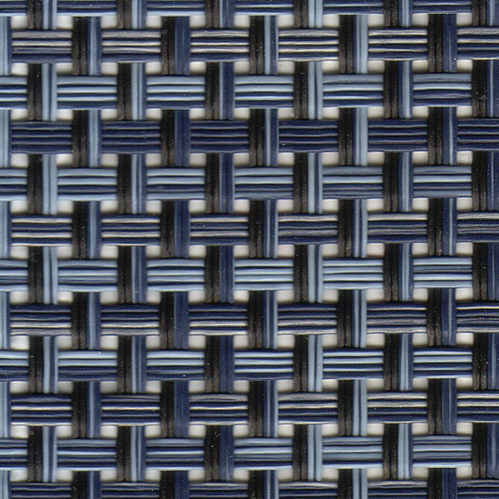 Foh Metroweave Indigo Vinyl Placemat 16 L X 12 W