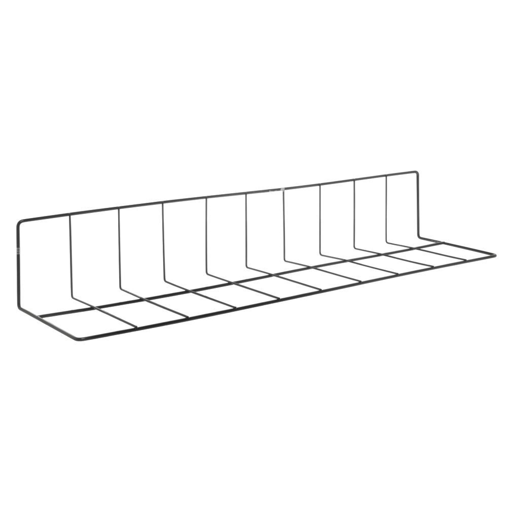 "BLACK 24X6X4""WIRE FENCE DIVIDER"