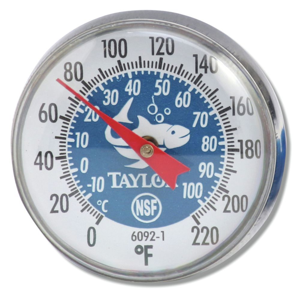 THERMOMETER, BABY DIAL, BI-THERM, BLUE