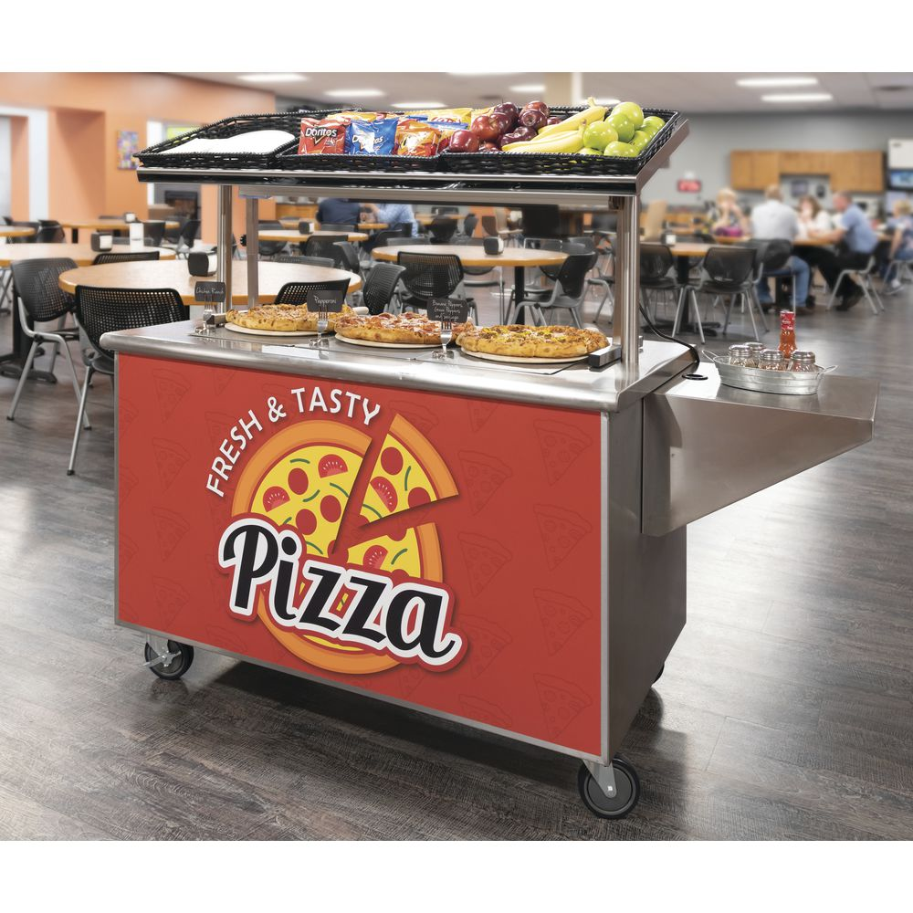 SIGN, MAGNETIC, PIZZA STATION, 49X26""