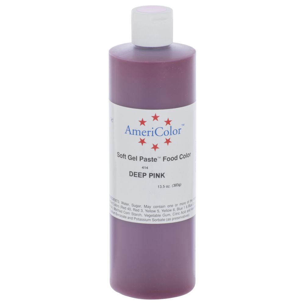 COLOR, FOOD GEL, 13.5OZ, DEEP PINK