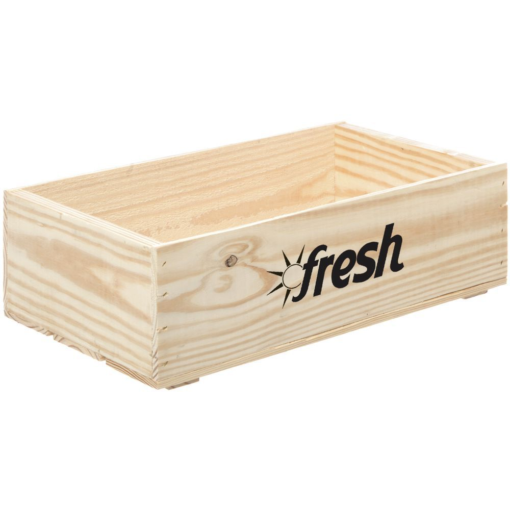 CRATE, FRESH LOGO, OAK, LARGE