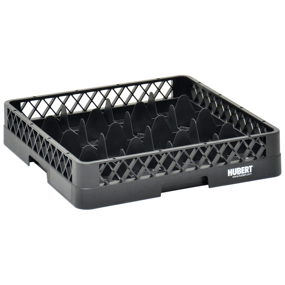 RACK, BASE, 16 COMPARTMENT, BLACK