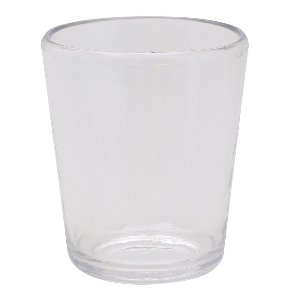 Carlisle® Mingle Clear Plastic Tumbler Double Old Fashioned 14 Oz