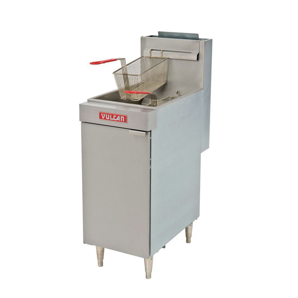 FRYER, NATURAL GAS, 45-50 LB, US ONLY
