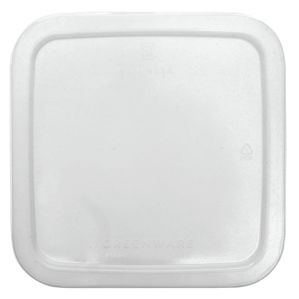 LID, GREENWARE, CLEAR, FOR 2-3-4 CELL CNTR