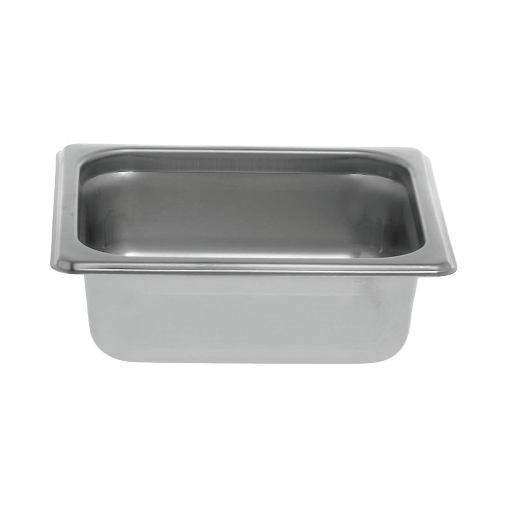"Hubert® 1/6 Size Pan for Steam Table 2 1/2""D"