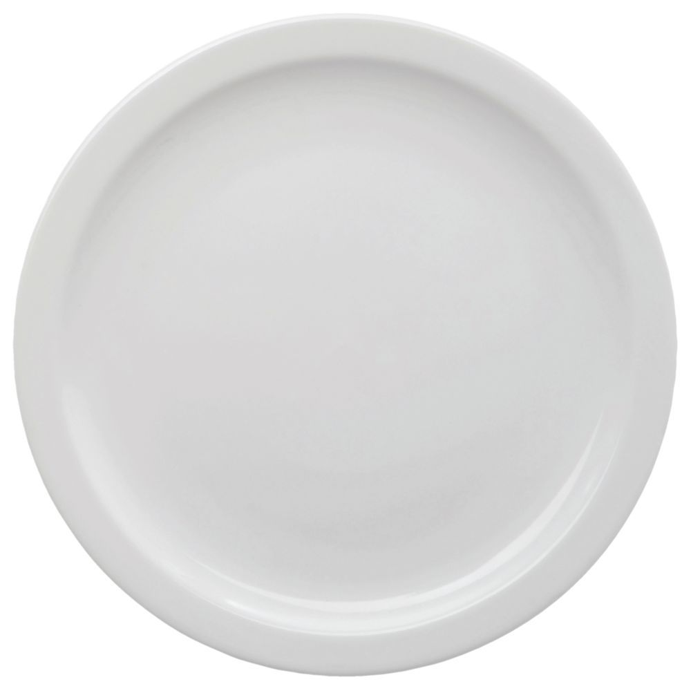 "+PLATE, STNWRE, DSRT, 6.5""DI, NRRW RM, BR WHT"