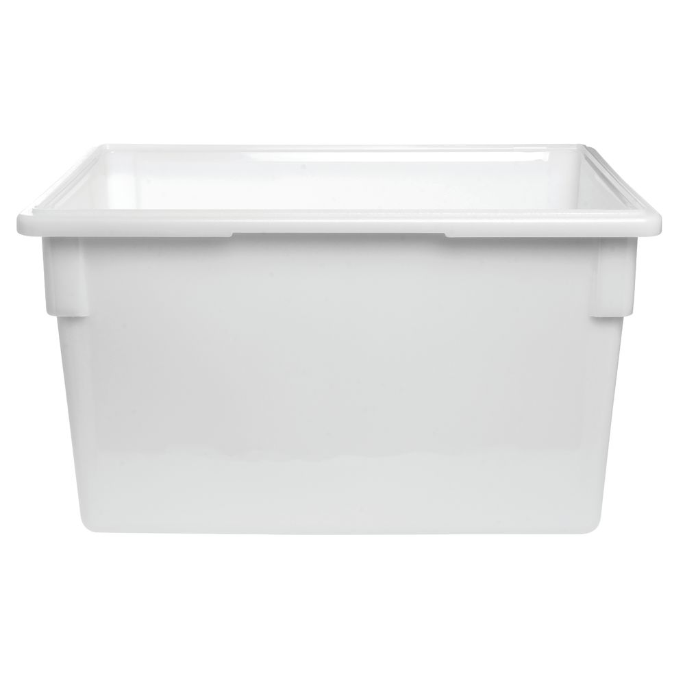 Cambro 22 Gal White Plastic Food Storage Container 26L x 18W x 15D