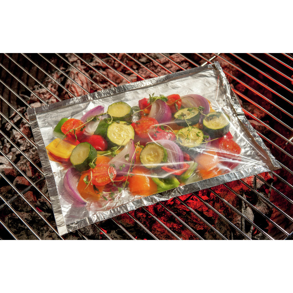 Bbq Amp Oven Bag With Foil Backing 8 3 4 Quot L X 11 3 4 Quot W