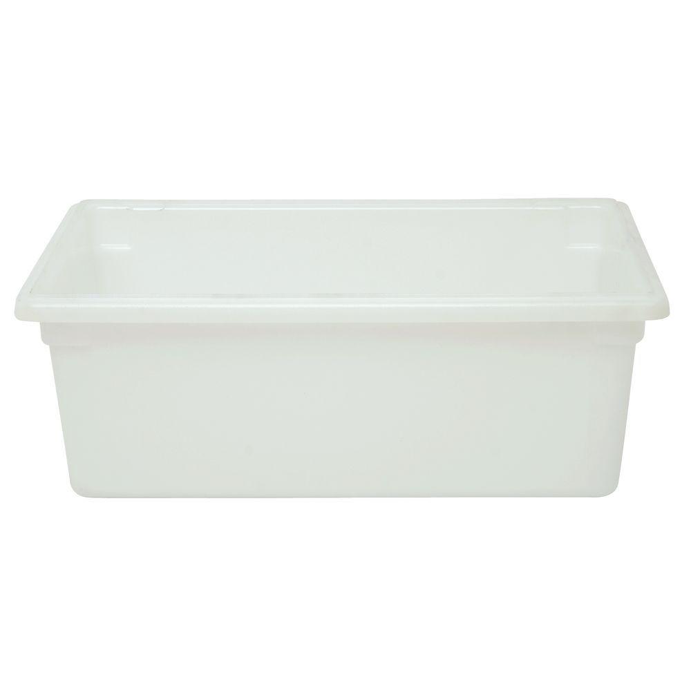 FOOD BOX, 12GALLON/47L, TRANSLUCENT WHITE
