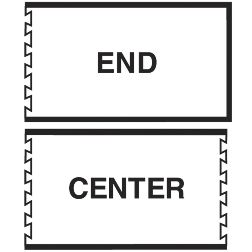 MAT INTERLOCK CENTER, 3'X5'BEVEL EDGE, BLK