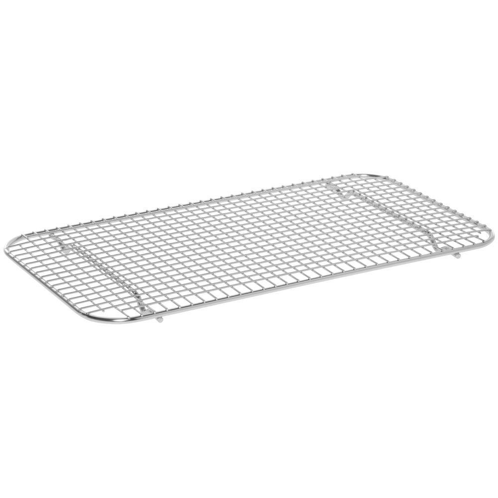 "Cooling And Glazing Wire Rack 18""L x 10""W x 3/4""H Stainless"