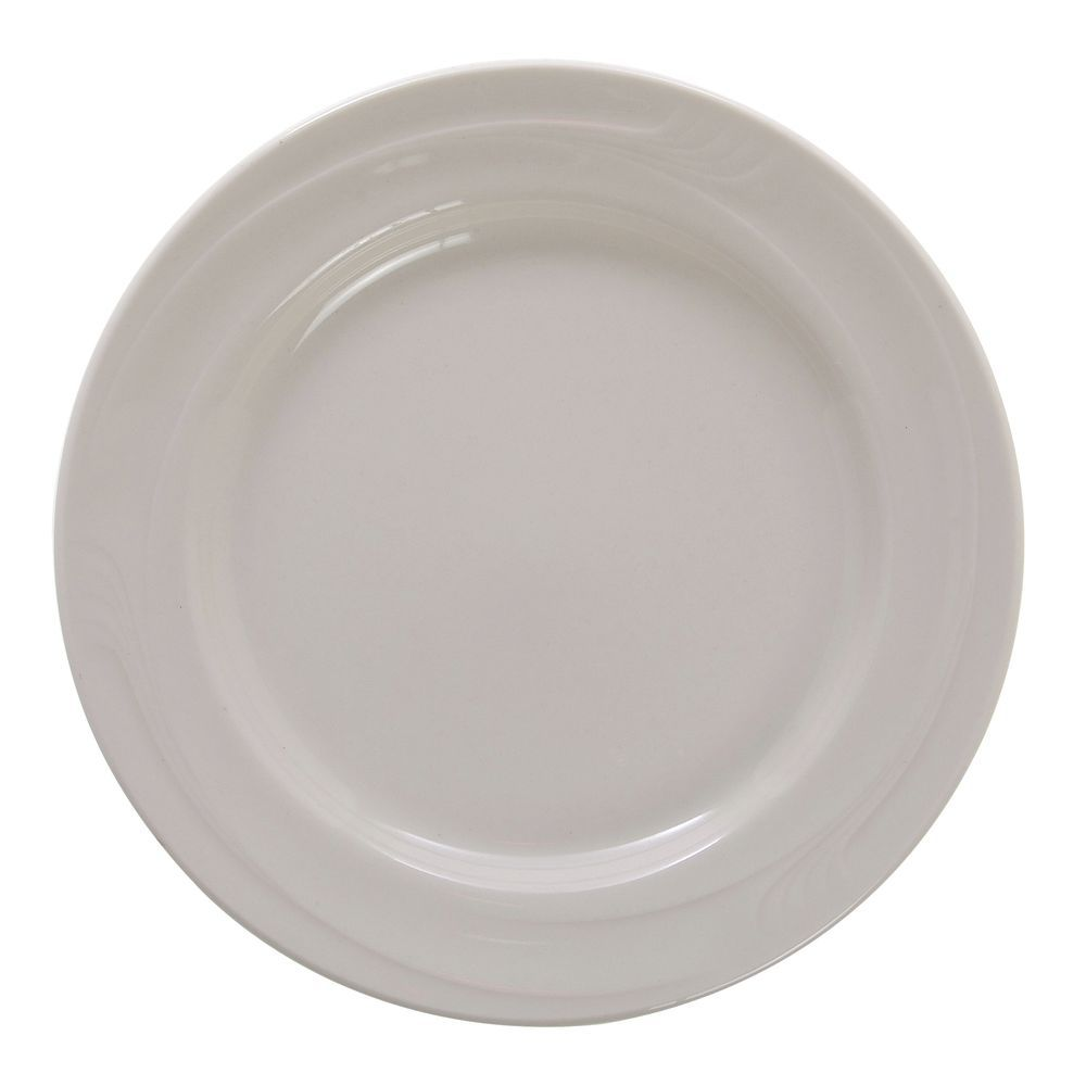 Oneida Espree Mid Rim Warm White China Dessert Plate 7 1 4 Dia