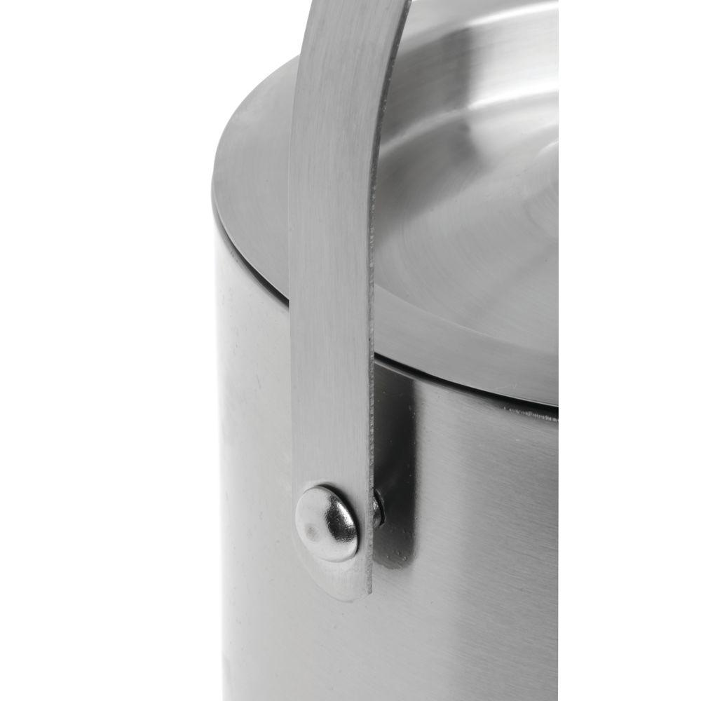Hubert® Double Wall Ice Bucket with Lid 2.1 Qt