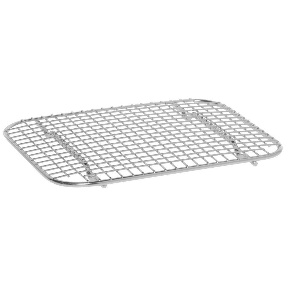 "Cooling And Glazing Wire Rack 11""L x 8 3/4""W x 3/4""H Stainless"