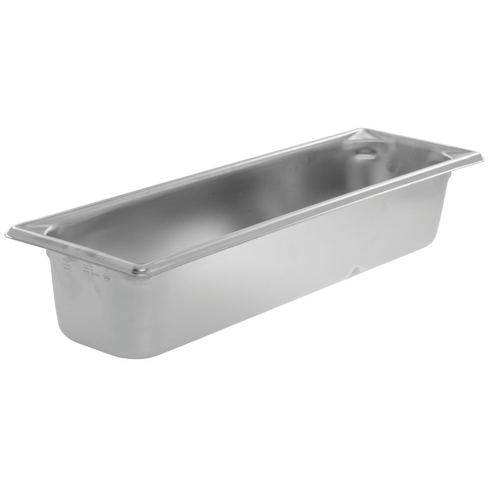 Vollrath Jacob's Pride™ Super Pan V® 1/2 Size Long Stainless Steel Steam  Table Pan - 4