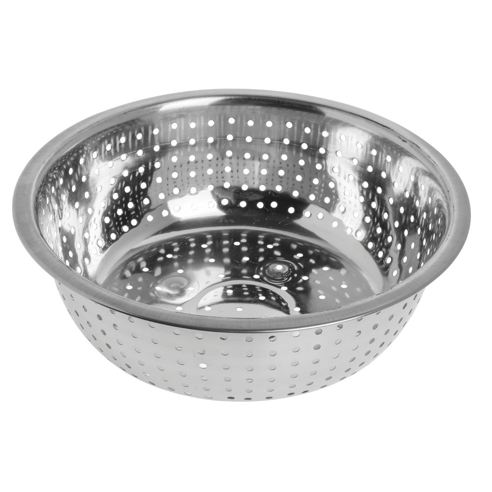 """COLANDER, CHINESE, S/S, 11""""DIA.X4""""H"""