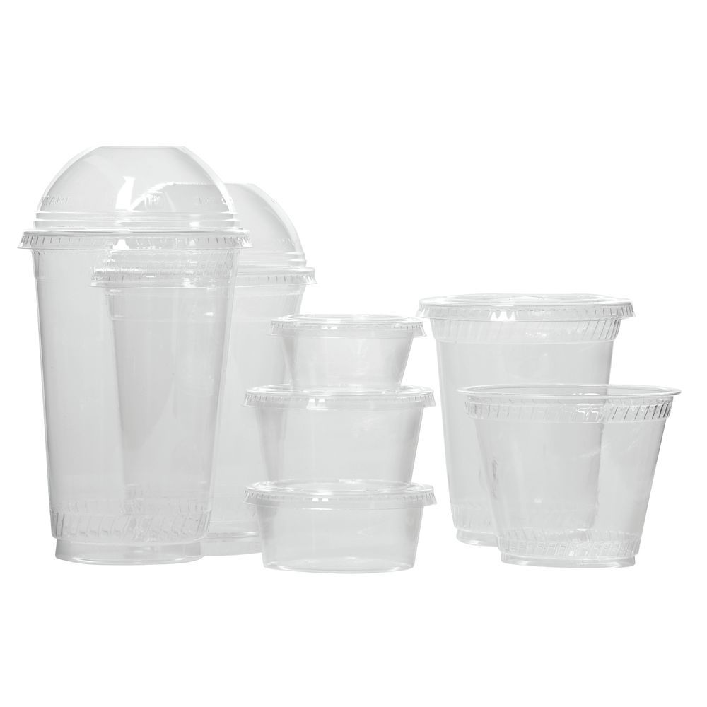CUP, COLD 20 OZ., PLA, CLEAR