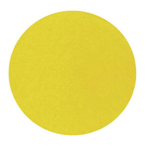 """LABEL, YELLOW, ROTATION DOT 3/4"""" SOLID"""