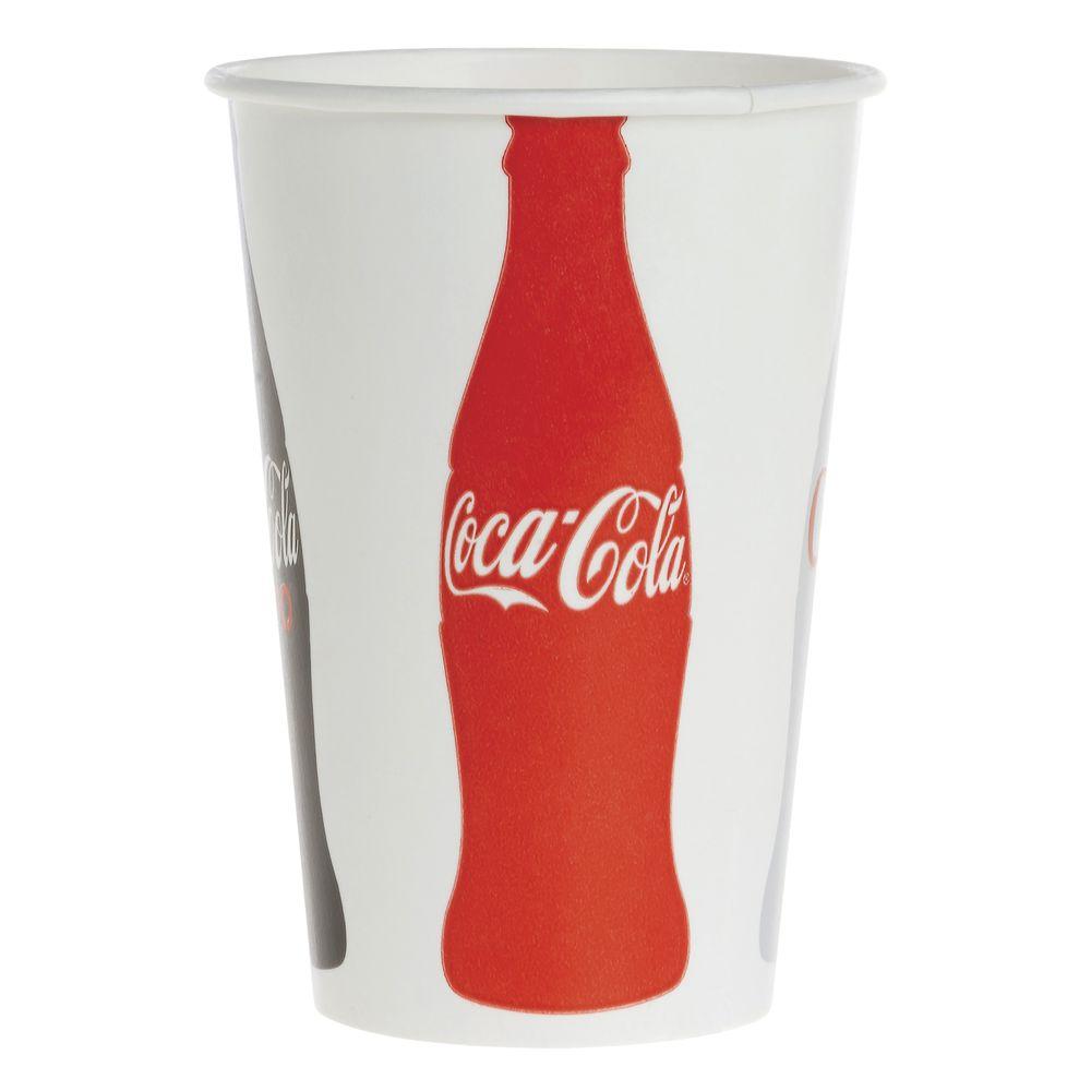 CUP, COLD, ECOTAINER, COCA COLA, 16 OZ_