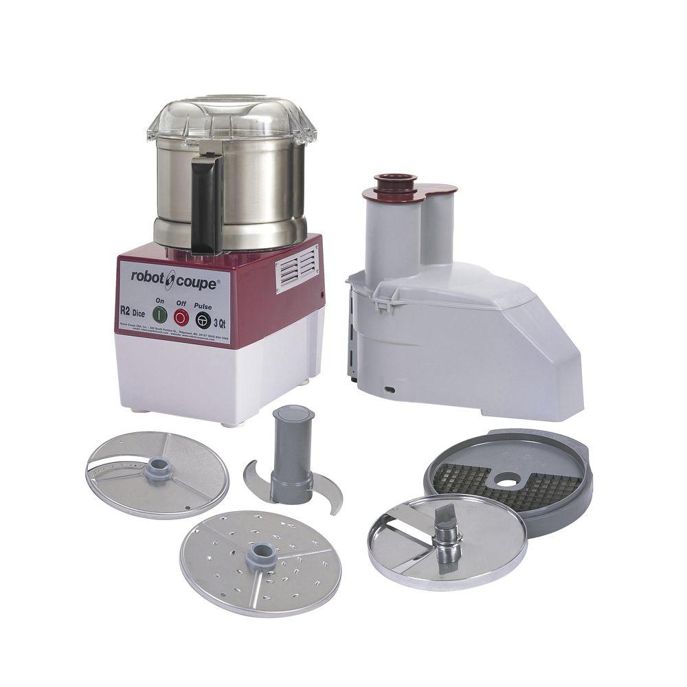 Robot Coupe 3 qt R2N Dice Ultra Food Processor