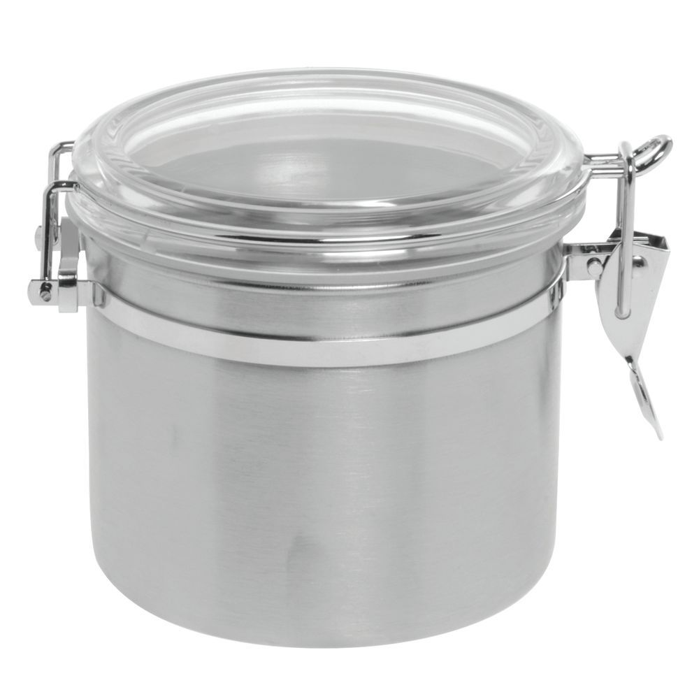 HUBERT® Round 25 Oz Stainless Steel Canister - 5\