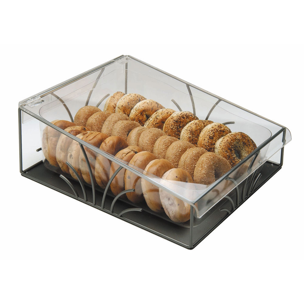 Countertop Bakery Display with Acrylic Hinged Cover