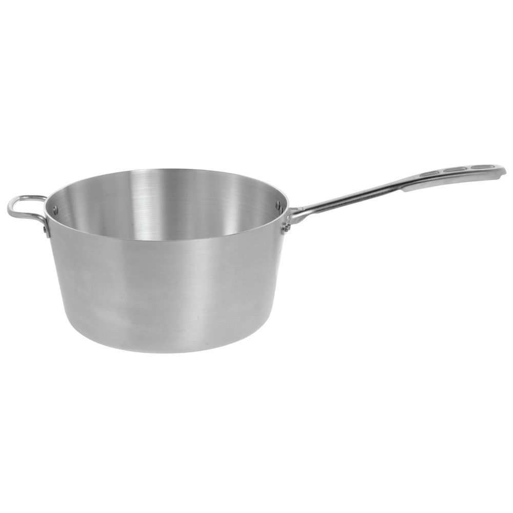 10-Qt. Saucepan with Chrome-Plated Handle