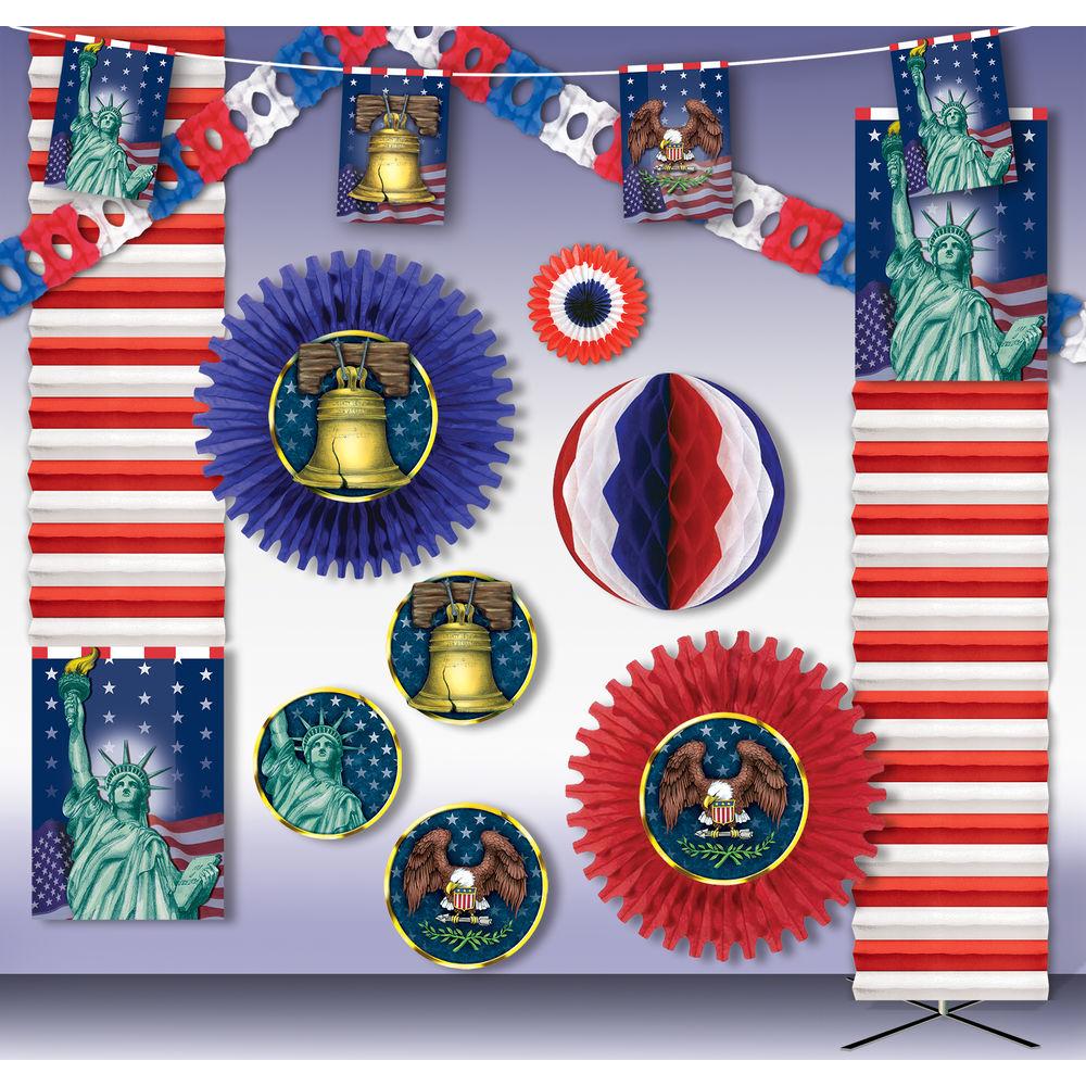 KIT, DECORATIONS, SPIRIT OF AMERICA, 6000SF