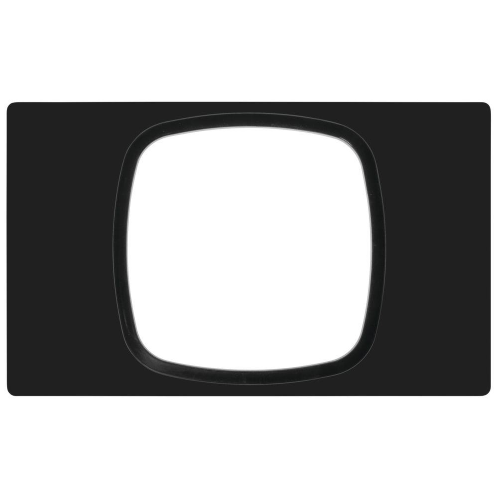 TILE, STAINLESS, 11X11 CUTOUT, BLACK