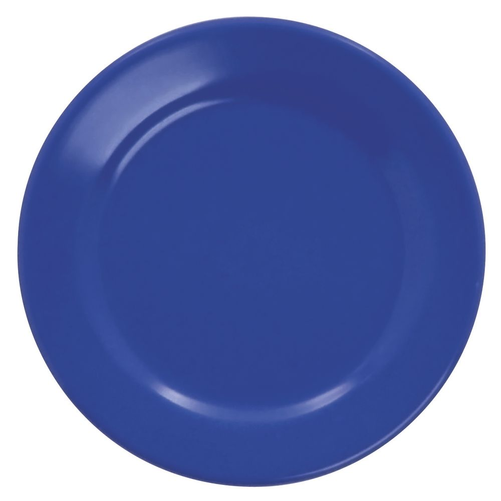 "PLATE, ROUND RIM, WINTER BLUE, 6-1/2"""