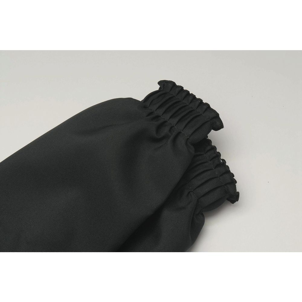"""Black Table Skirst Shirred Polyester 29""""H x Sold Per Foot"""