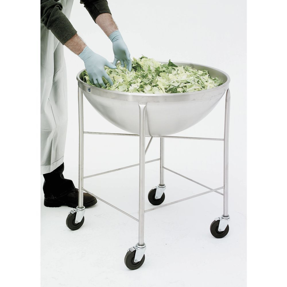 BOWL, MIXING, 80 QT, W/MOBILE STAND