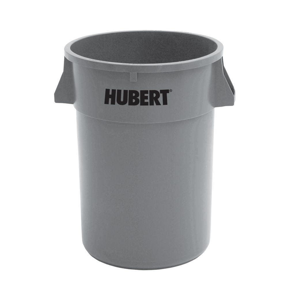 HUBERT�?�® 44 gal Grey Plastic Commercial Trash Receptacle