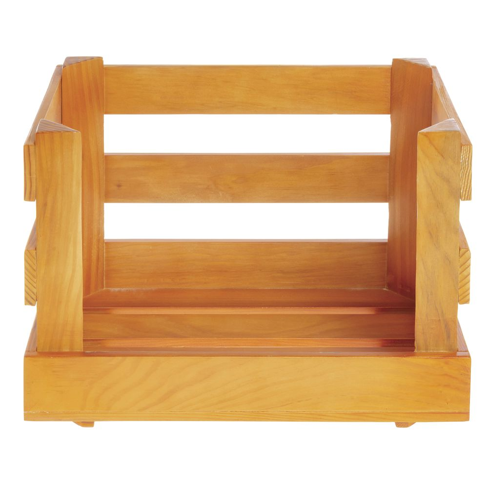 CRATE, STACKING, COUNTERTOP, W/OUT CASTERS