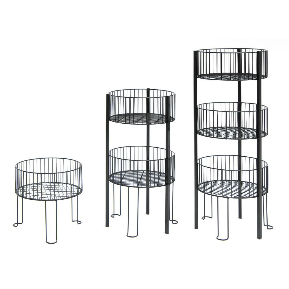 3 Tier Wire Basket has Depth for Large Quantities