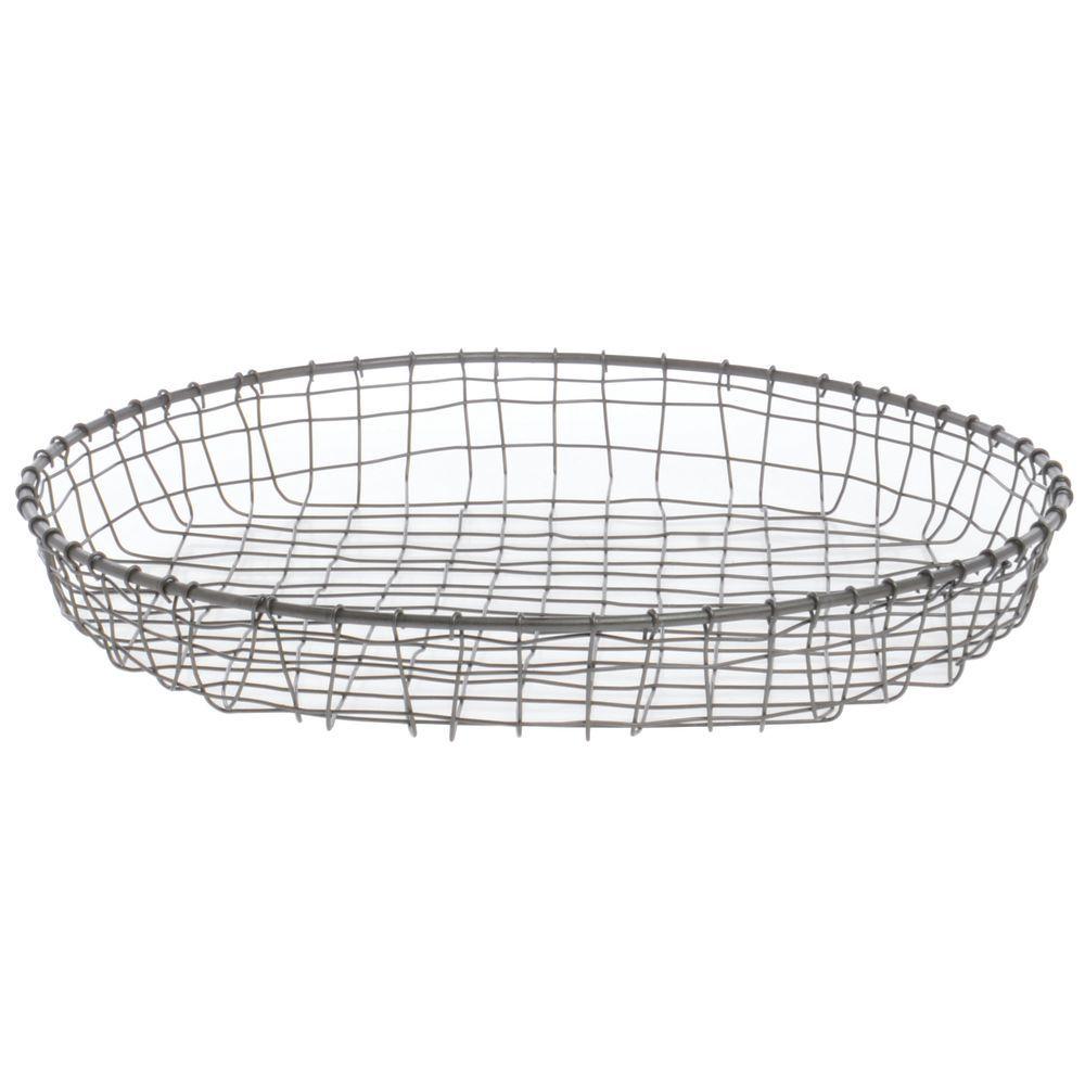 Expressly HUBERT Round Cabo Steel Wire Basket - 15Dia x 2H