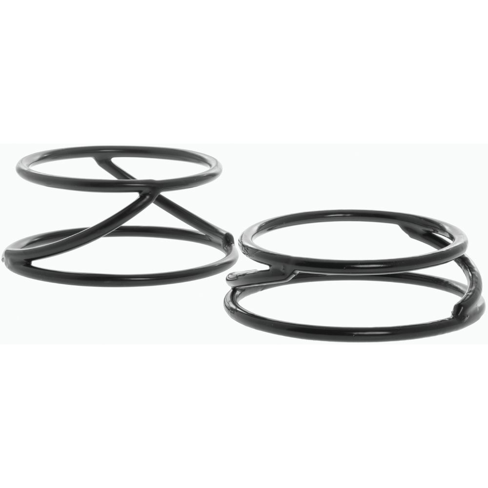 """Elite Round Spiral Pedestal 6"""" and 7"""" dia x 2""""H Rubber-Coated Steel"""