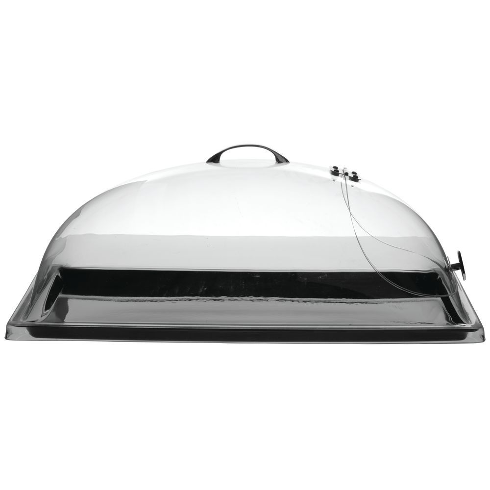 """Hubert One End Hinged Dome Cover 20""""L x 12""""W x 7 1/2""""H"""