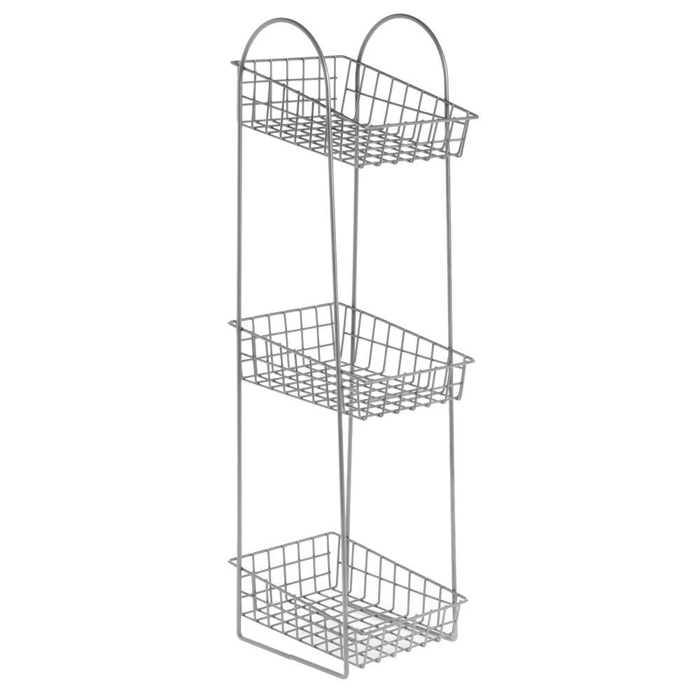 Silver 3 Tier Stand for Snack Display