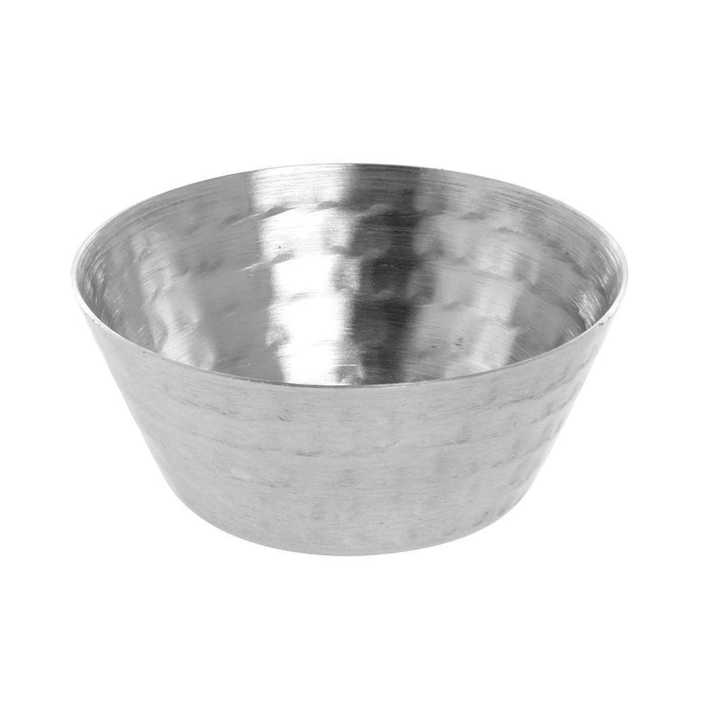 CUP, SAUCE, HAMMERED S/S, 1.5 OZ