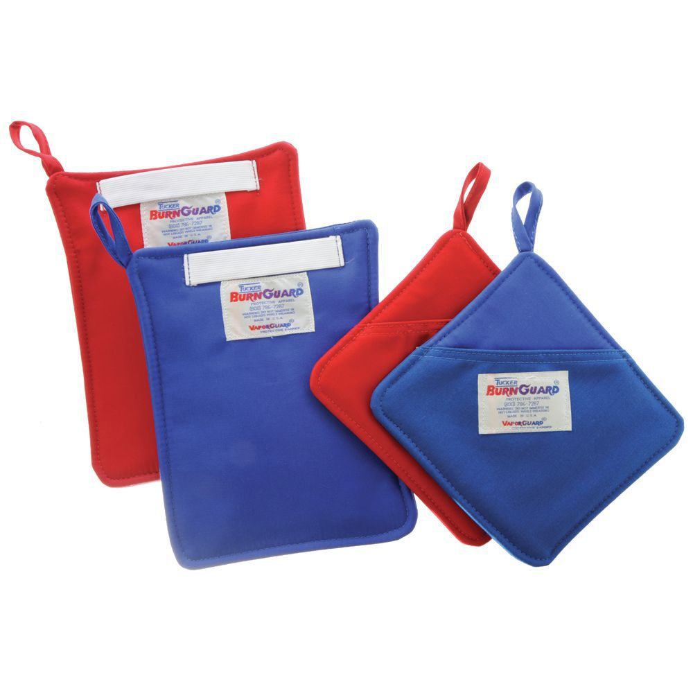 BurnGuard® Hot Pad in Blue