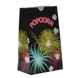 BAG, POPCORN, STANDUP, MEDIUM, 85 OZ.